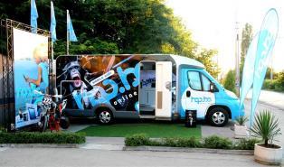 Мобилният магазин на hop.bg спира за първи път в Плевен